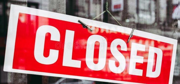 Hemelvaart weekend: Winkel Rucphen gesloten